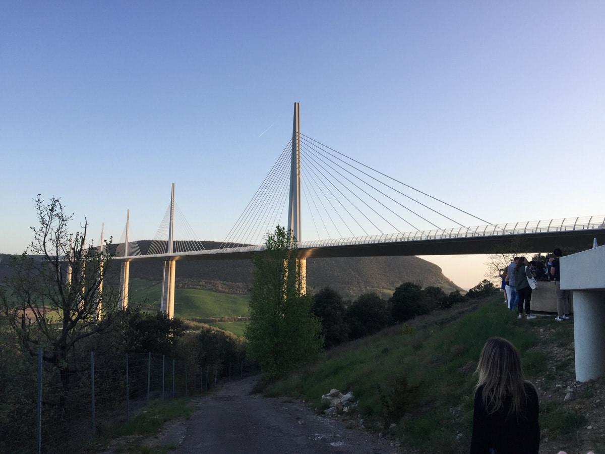 Viaduc de Millau pour visiter l'Aveyron