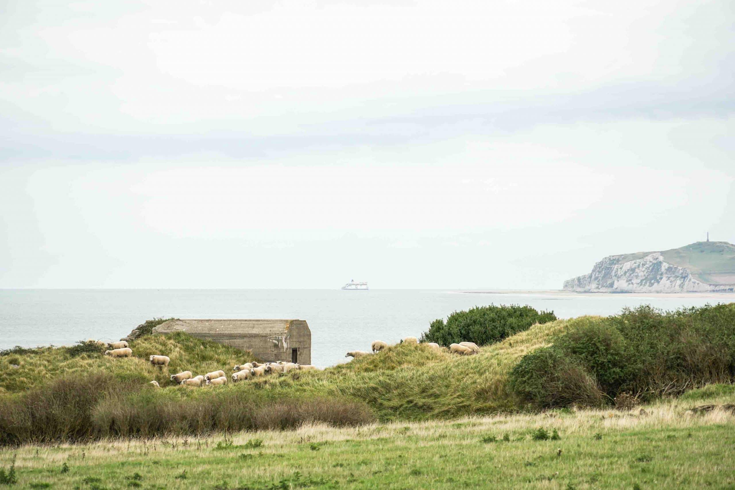 Bunker en côte d'Opale