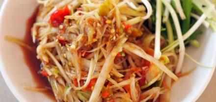 La salade de papaye verte Tam mak houng