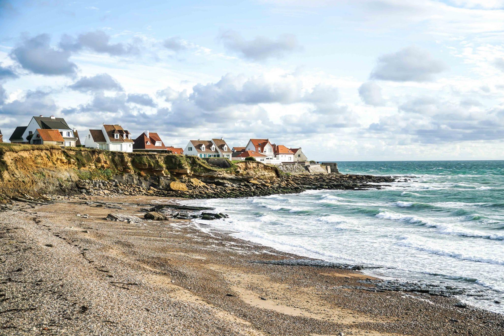 Visiter la côte d'Opale: Vue sur Ambleteuse
