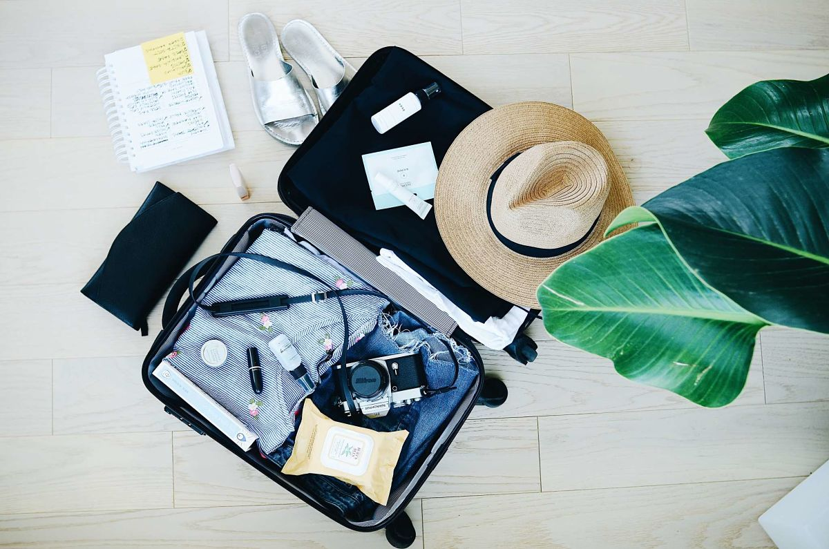 Indispensables pour voyager - Valise